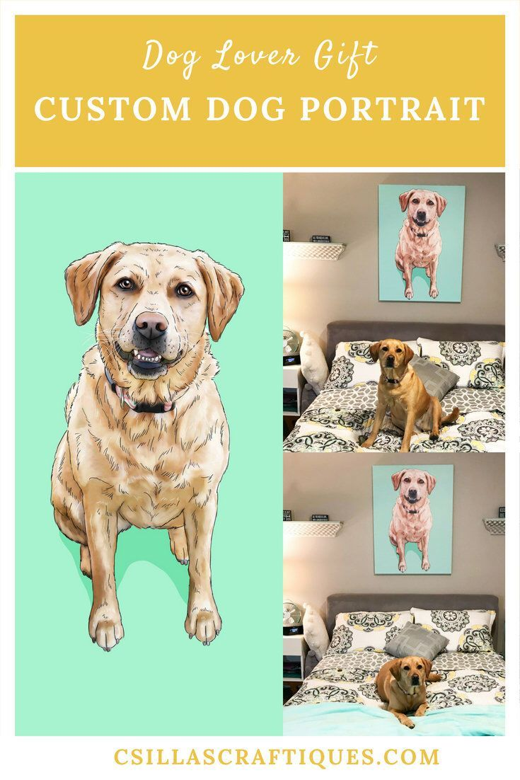 Personalized Dog Lover Gift Gifts For People Owner Birthday Idea Labrador Home Wall Decor Ideas Bedroom