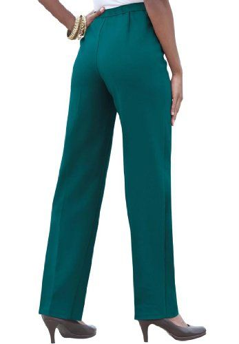 Bend Over Plus Size Petite Super Stretch Pull-on Pants $34.99
