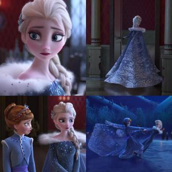 A brand new Disney Frozen Holiday seen!! by blueappleheart89