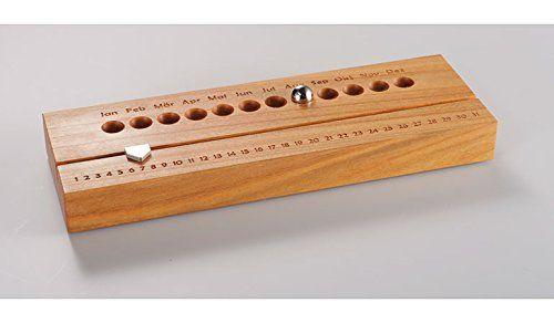 Hochwertiger Kalender aus Holz Ewiger Kalender Holz (Kirsche) 4betterdays http://www.amazon.de/dp/B011V40ZNU/ref=cm_sw_r_pi_dp_bWcHwb1ZZPMKW