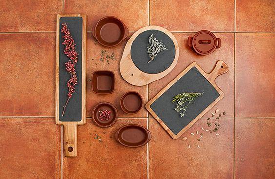 Piezas de mesa ARAM de La Bouchée