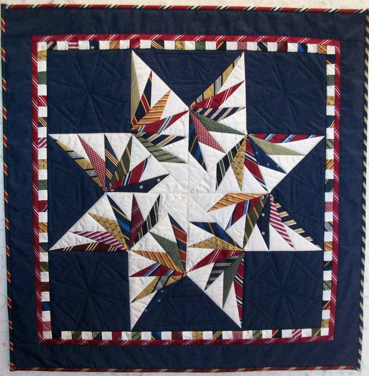 Necktie Quilting Patterns : 25+ best ideas about Necktie Quilt on Pinterest Tie quilt, Tie a necktie and Men ties