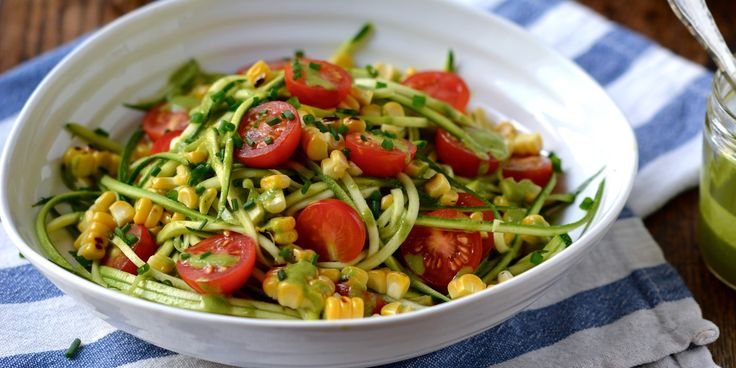 Courgetti Salad Recipe - Great British Chefs