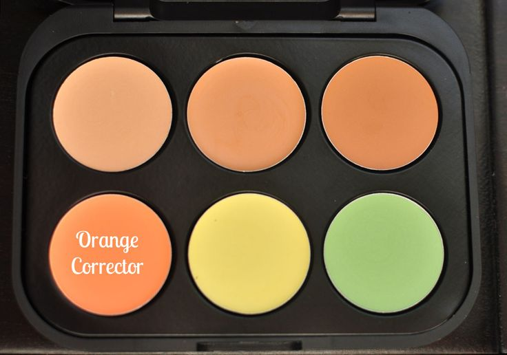 Bh Cosmetics 6 Color Concealer Corrector Palette In