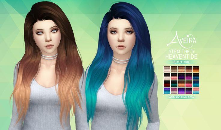 Aveira de Sims 4, de Stealthic Heaventide - texturizar 70 colores + 20 ...