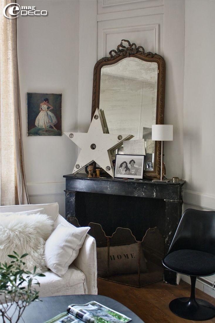 L'intérieur vintage d'une chineuse, un reportage du magazine de décoration e