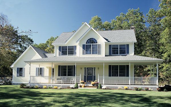 The american farmhouse modern farmhouse house plans and for Old american style houses