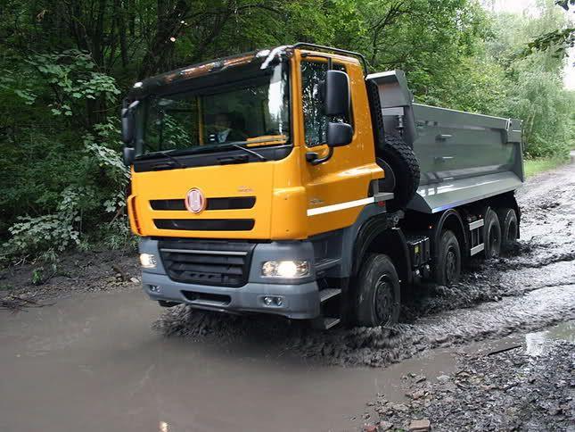 TATRA PHOENIX T815, Czech (DAF cab)