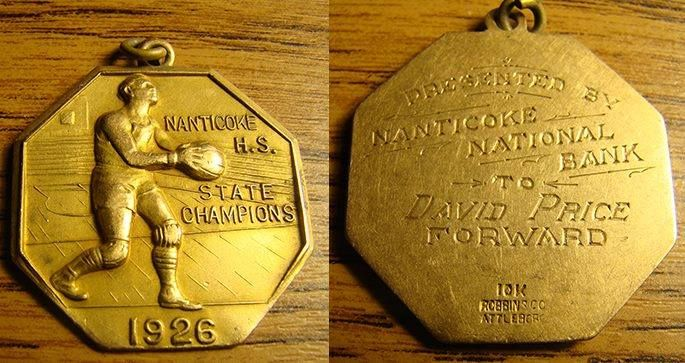 David Price Medal 1926 GNA.  Donated by NHS to GNA.