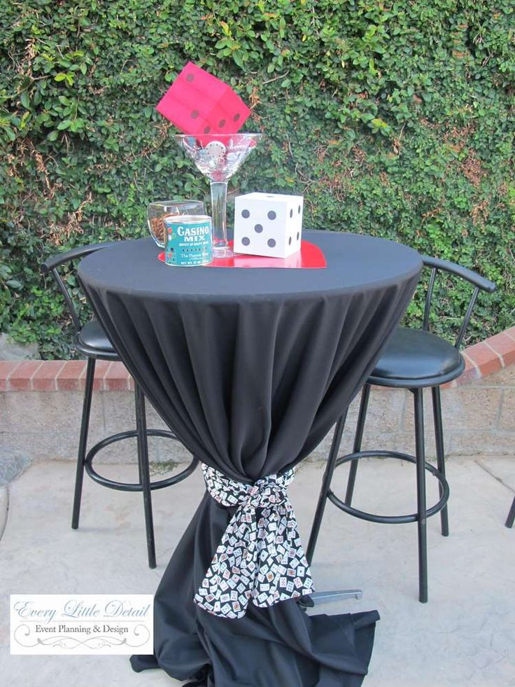 Casino Birthday Birthday Party Ideas | Photo 1 of 26 | Catch My Party