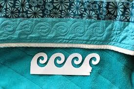 Image result for quilting waves