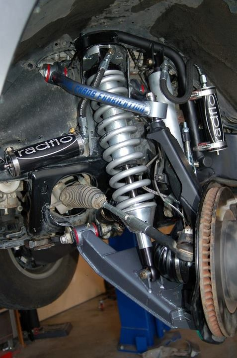 """Total Chaos 2"""" wider long travel with Radflo Coil overs"""