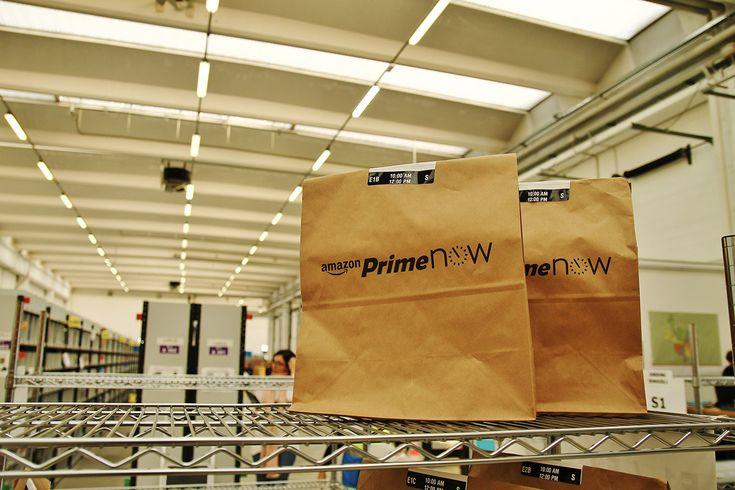 Amazon lancia #PrimeNow, servizio disponibile da oggi a Milano, e le consegne saranno effettuate in un'ora al costo di 6,90 euro.