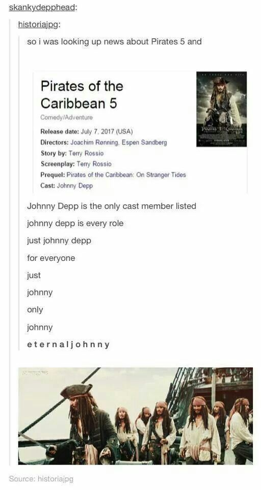 It meant that he was the only cast member confirmed so far.