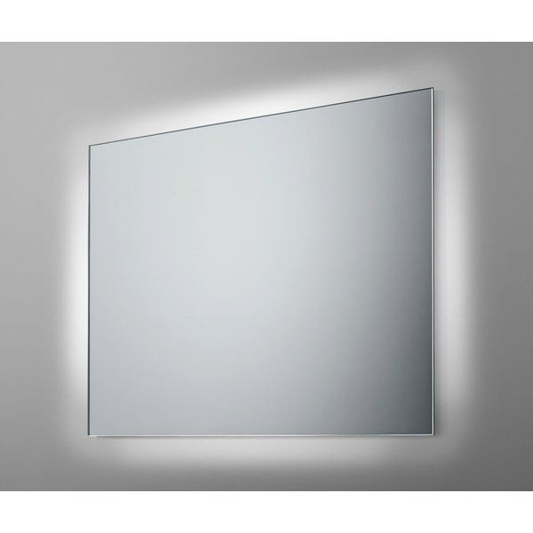 The Shine Bathroom Mirror offers a back light effect that is very subtle yet impressive. The light comes from behind the mirror edges creating a distinctive glow. Power LED technology generates 100% more light than standard LED strips. The result is an optimum clarity and brightness without the effect of glare. Perfect for daily use, the polytetrafluoroethylene protection coat protects the mirror from humidity and corrosion.