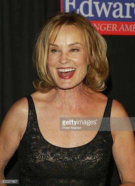 Actress Jessica Lange attends the John Kerry and John Edwards 2004 Victory Concert on July 8 2004 at Radio City Music Hall in New York City