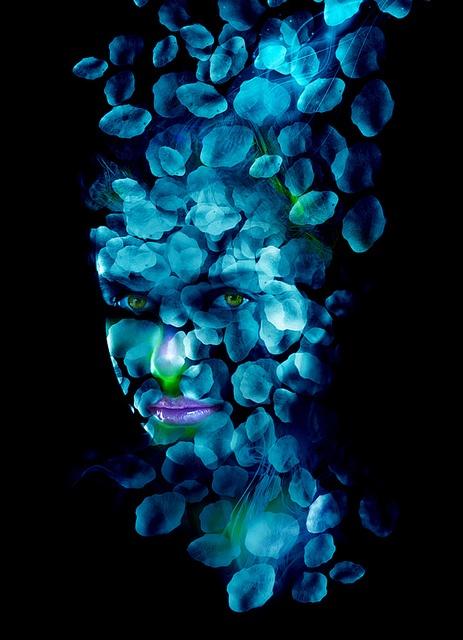 Blue by Marco Escobedo -- Art / Design