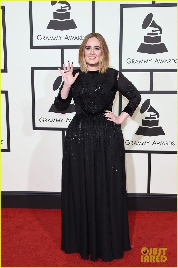 Adele Stuns on Grammys 2016 Red Carpet!