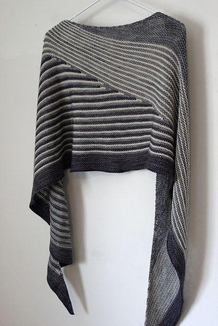 Colour Affection shawl
