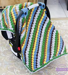 Ravelry: Sequoia Car Seat Canopy pattern by Ashleigh Kiser