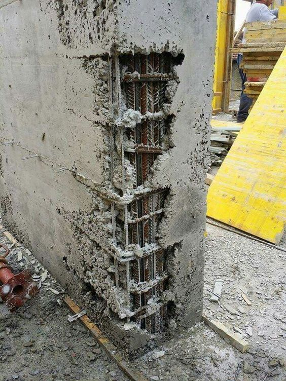 segregation in concrete what is your comment concrete on construction wall structure general info id=66128