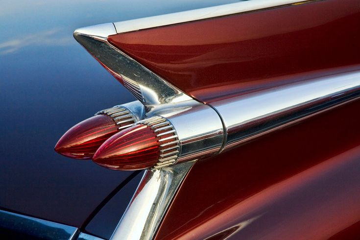 1959 Cadillac Tail Lights : The iconic cadillac bullet tail lights