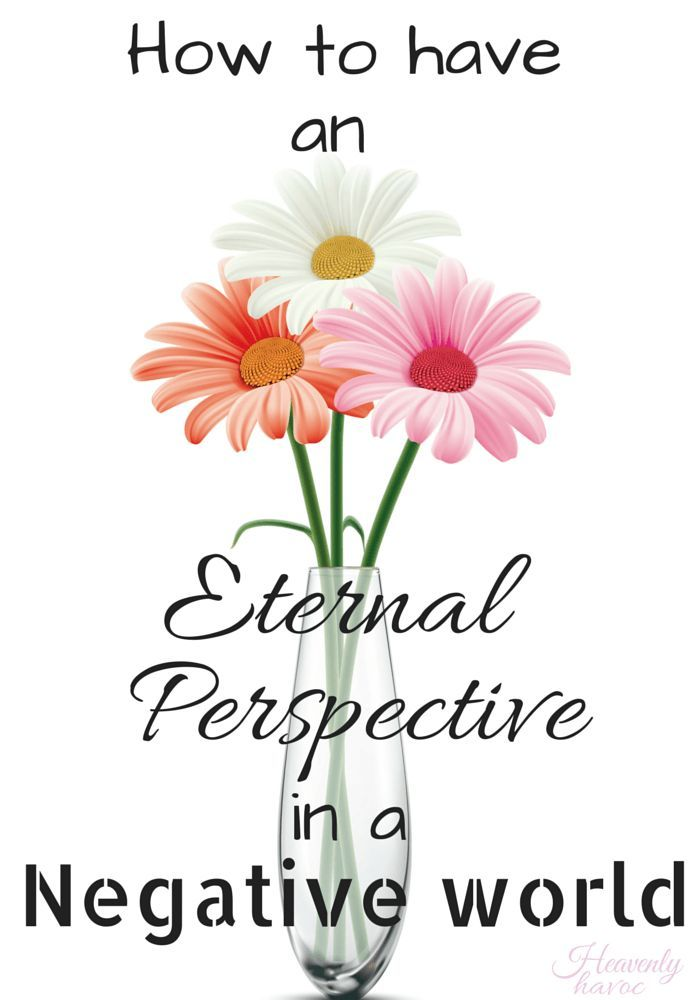Sometimes I get so caught up in the stresses of life, I forget to have an eternal perspective of what's most important!