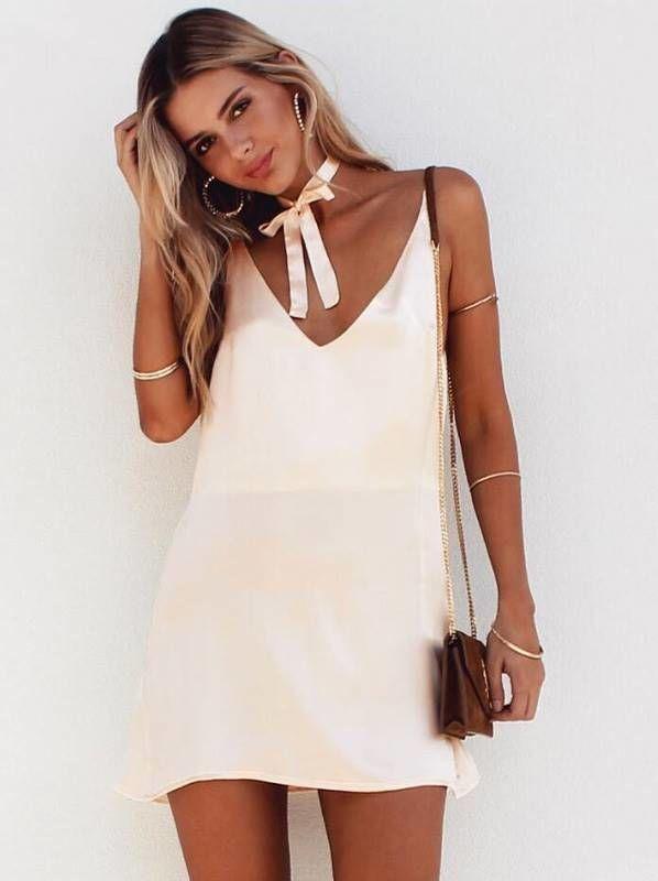 Vestido de Alcinha Slip Dress - Compre Online | DMS Boutique