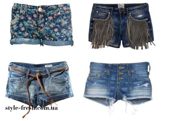 Шорты короткие белые джинсовые купить
