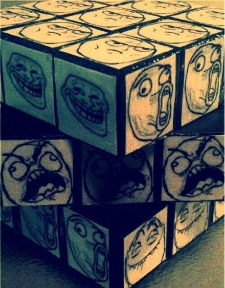 Bare en Rubic s terning