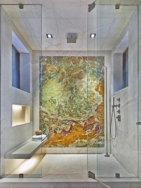 73 besten salle de bains Bilder auf Pinterest Bad Körbe, Gold - neue badezimmer trends