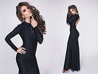 Вечернее платье Madlen черное