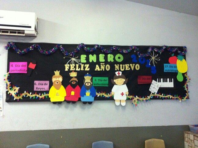 Periodico mural Enero                                                                                                                                                     Más