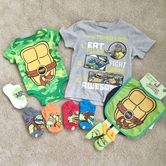 Ninja Turtle Baby Clothes Baby Pinterest Clothes