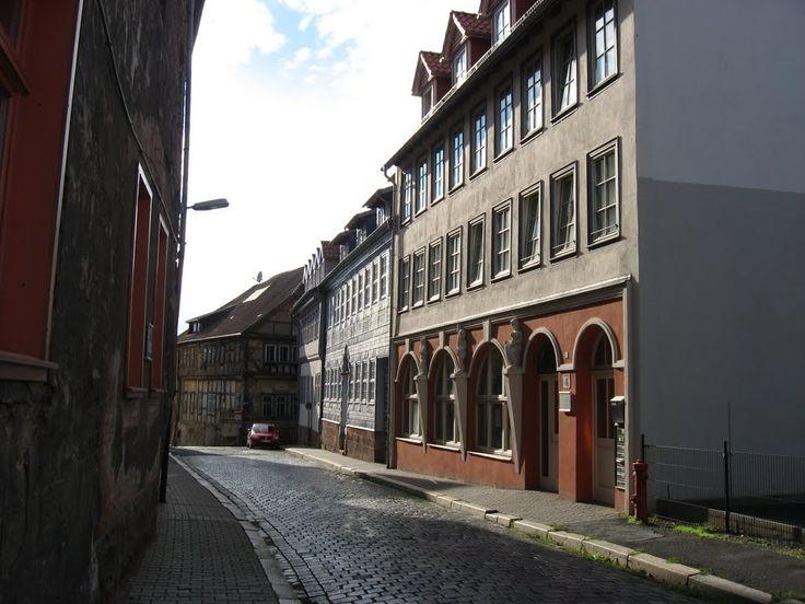 "Nordhausen, Waisenstraße, früher Tanzlokal ""UHU"", 2010"