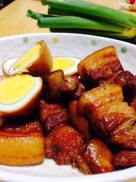 豚の角煮 炊飯器大王 by わっしょい❤  ❤   [クックパッド] 簡単 ...