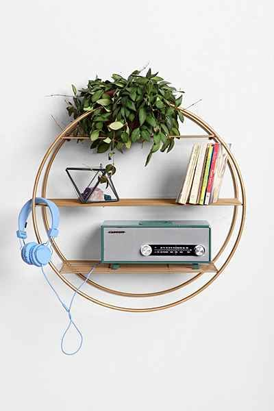 Wire Circle Shelf For The Home Pinterest Shelves