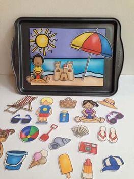 Craftivity & Vocabulary Activities - Summer Theme
