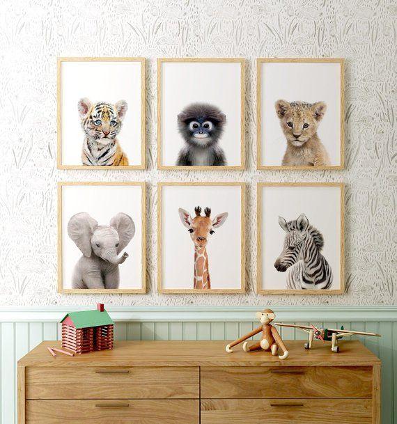Safari Animal Prints Nursery