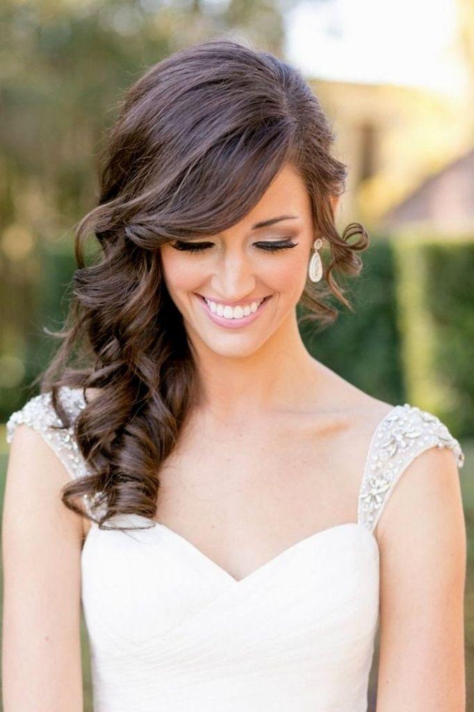 wedding hair side ideas