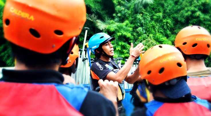 Adventure with CARE   #Caldera_Indonesia #Rafting Citarik - Sukabumi, West Java Indonesia