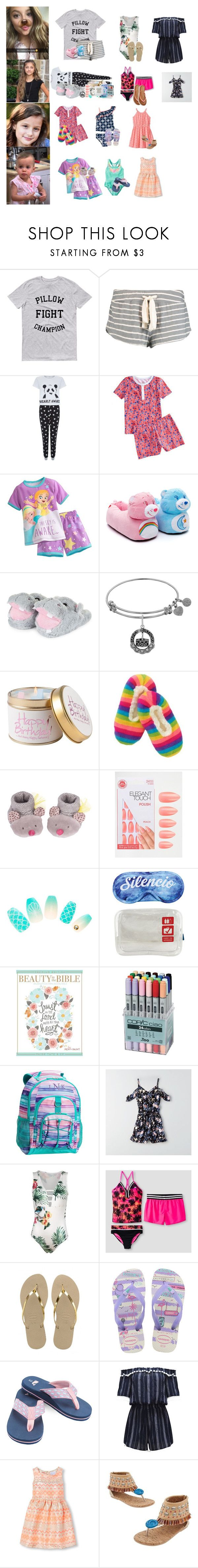 """""""Reese's 10th bday celebration! RTD"""" by laurenatria11 ❤ liked on Polyvore featuring Eberjey, Disney, Lily-Flame, Moulin Roty, Elegant Touch, Flight 001, PBteen, American Eagle Outfitters, Carter's and ZeroXposur"""