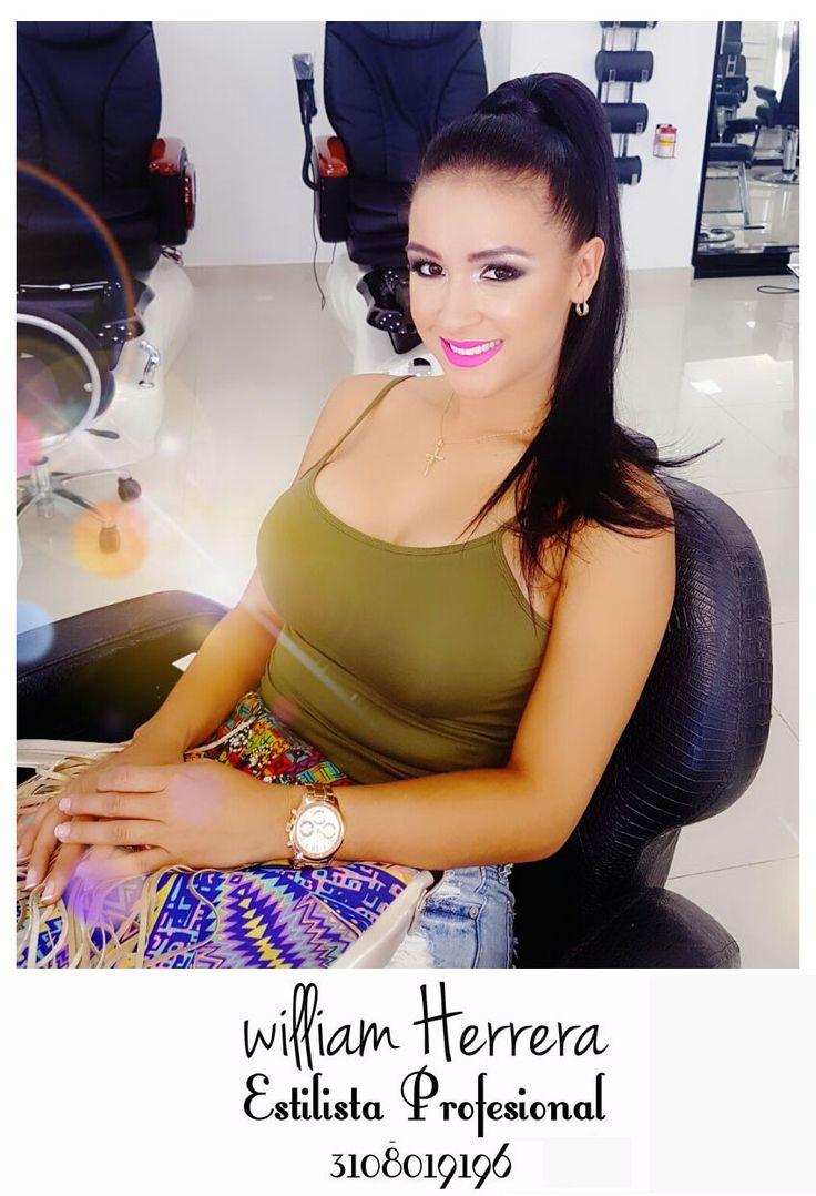 ¡El look de cola alta! Este look siempre lo recomiendo porque hace alargar el cuello y las mujeres se ven súper elegantes y claro le da protagonismo a tu cara, por lo que un maquillaje que te perfile bien es la decisión más acertada, por ejemplo resaltar tus ojos quedará muy bien <3 Asesórate conmigo y lleva tu look ideal 3108019196 ¡William Herrera, Estilista Profesional! #MakeUp #Maquillaje #Belleza #MAC #CaliCo #Cali #Colombia #CaliEsCali #Hermosas #Recogidos #Pro #Estilista #Profesional…