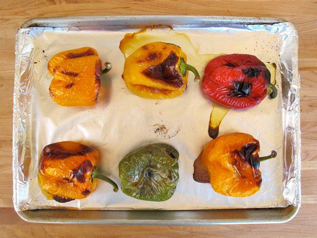 How to Roast Bell Peppers 3