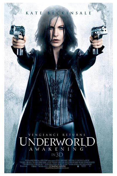 Vengeance returns as Kate Beckinsale reprises her role as Selene in the next installment of the the Underworld film series - Underworld: Awakening1 Ships fast. 11x17 inches.