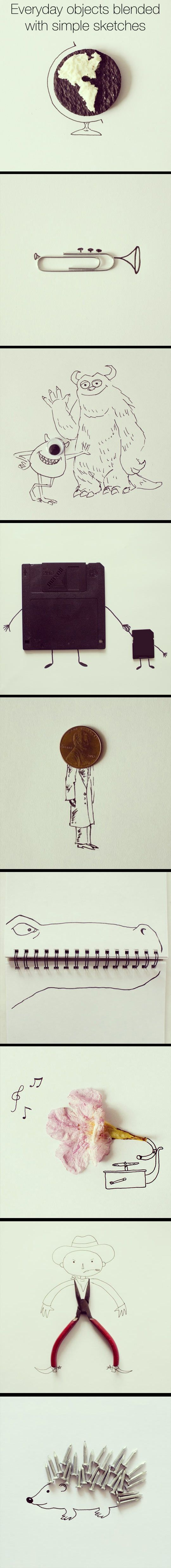 Art Created From Ordinary Things
