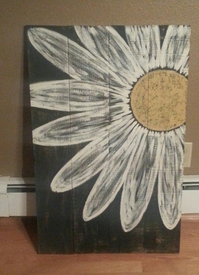 Another daisy pallet sign
