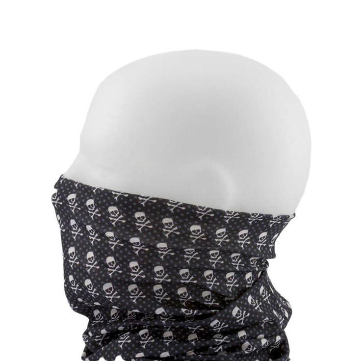 Multifunktionstuch / Schlauchtuch / Halstuch - Skulls & Bones in Bekleidung Accessoire  • Schals & Tücher • Multifunktionstücher