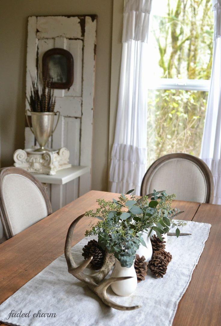 Faded Charm: ~Eucalyptus~. Gardinen!