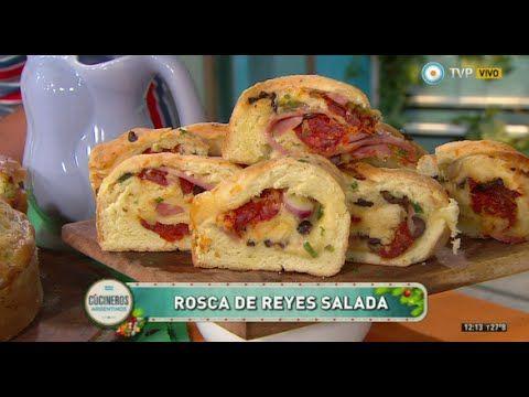 Rosca de Reyes salada - YouTube